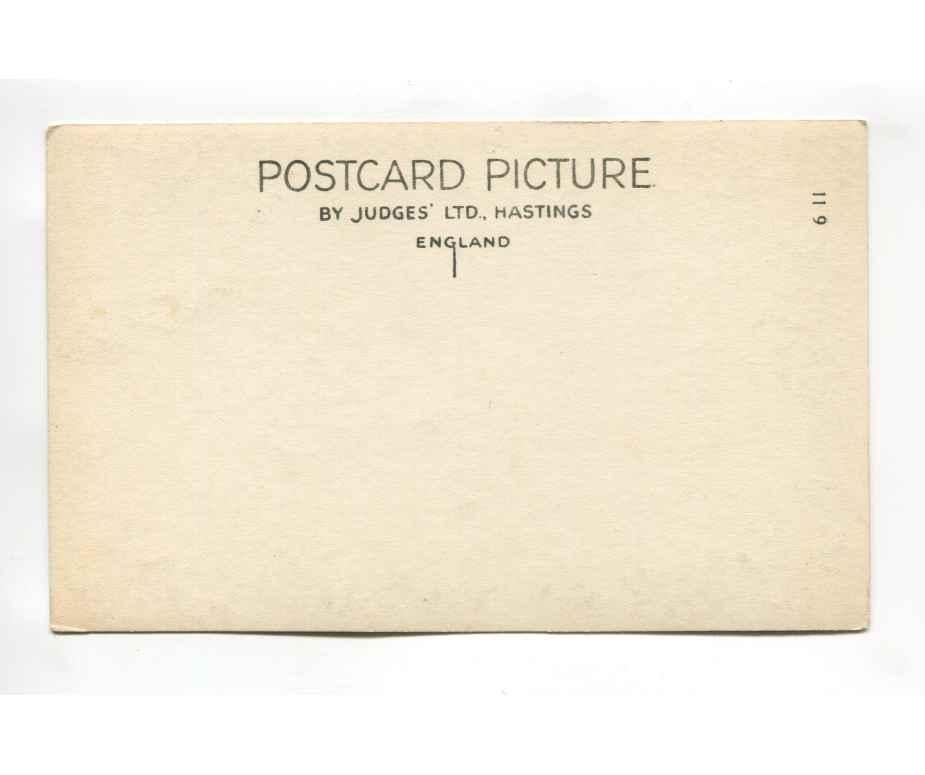 downderry cornwall vintage postcard