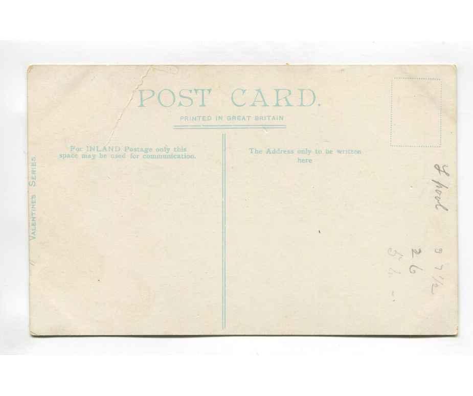 clwyd   wellington road rhyl vintage postcard