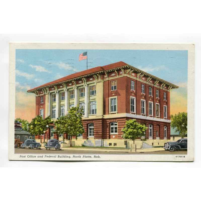 Post Office And Federal Building North Platte Nebraska